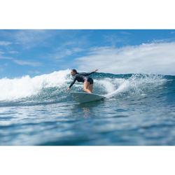 Surfvest voor dames neopreen 2 mm expert frontrits zwart