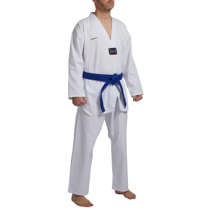 Taekwondo-Anzug 500 Erwachsene, LIEFERUNG OHNE GÜRTEL