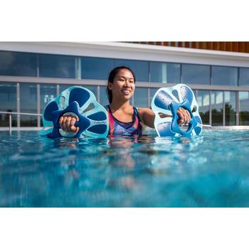 女款Lou Vib水中健身泳裝上衣-白色