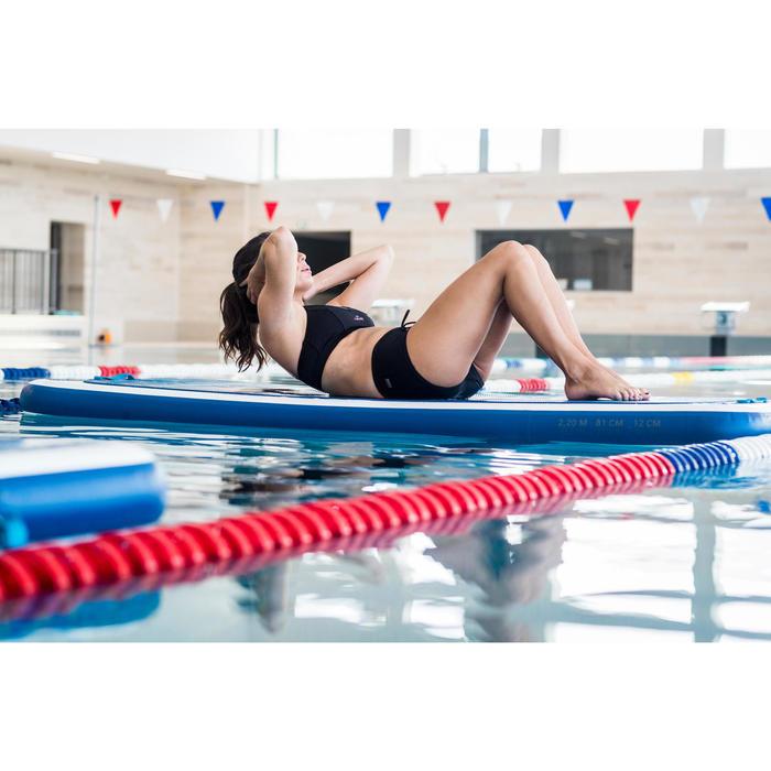 Bas de maillot de bain culotte d'Aquafitness femme Meg noir