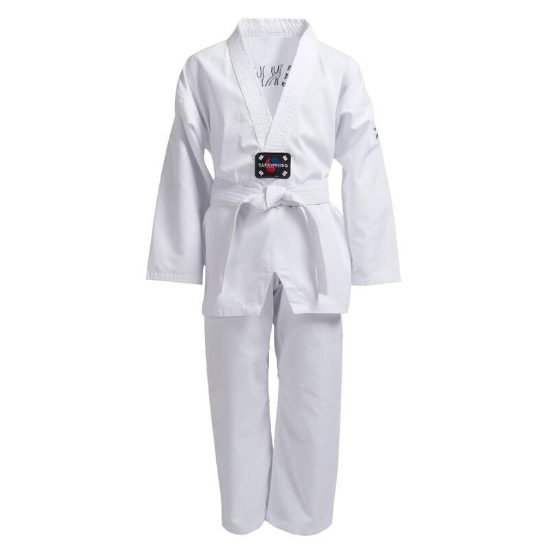 Taekwondo - DETSKÝ DOBOK 100 NA TAEKWONDO OUTSHOCK