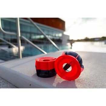 Halters voor aquafitness en aquacrosstraining R360 blauw/oranje set van 2