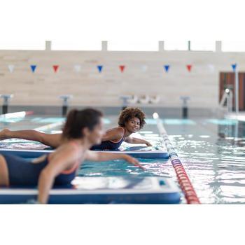 Colchão aquático flutuante O'MAT para Aquafitness e Hidroginástica Azul