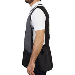 GILET BALL-TRAP 520 SPORTING GRIS
