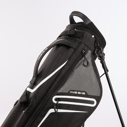 Standbag voor golf Ultralight zwart
