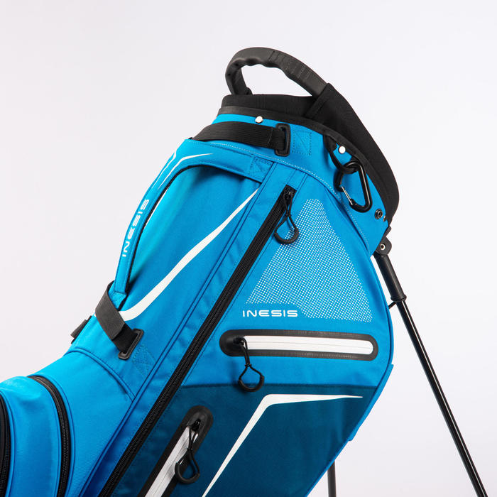 Standbag voor golf Light cyaanblauw