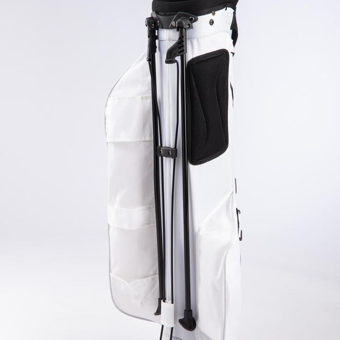 Standbag voor golf Ultralight wit