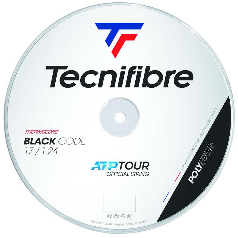 CORDAJ RACHETE TENIS Sporturi cu racheta - Cordaj Tecnifibre Black Code  TECNIFIBRE - Mingi de tenis si accesorii
