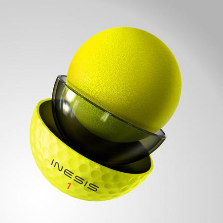 GOLF BALL TOUR 900 x12 - YELLOW