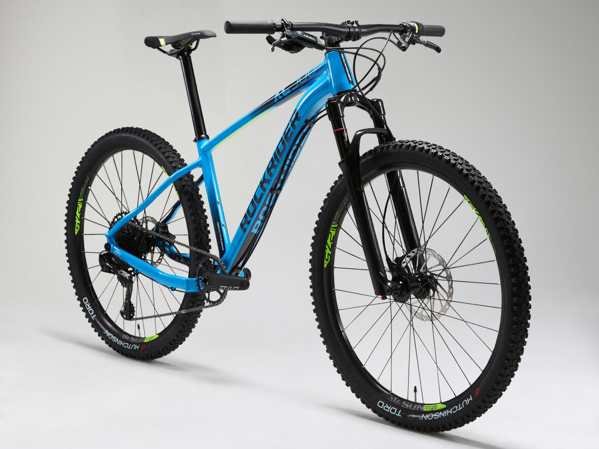 "ROCKRIDER XC 500 MOUNTAIN BIKE 27.5"" EAGLE LIGHT BLUE"