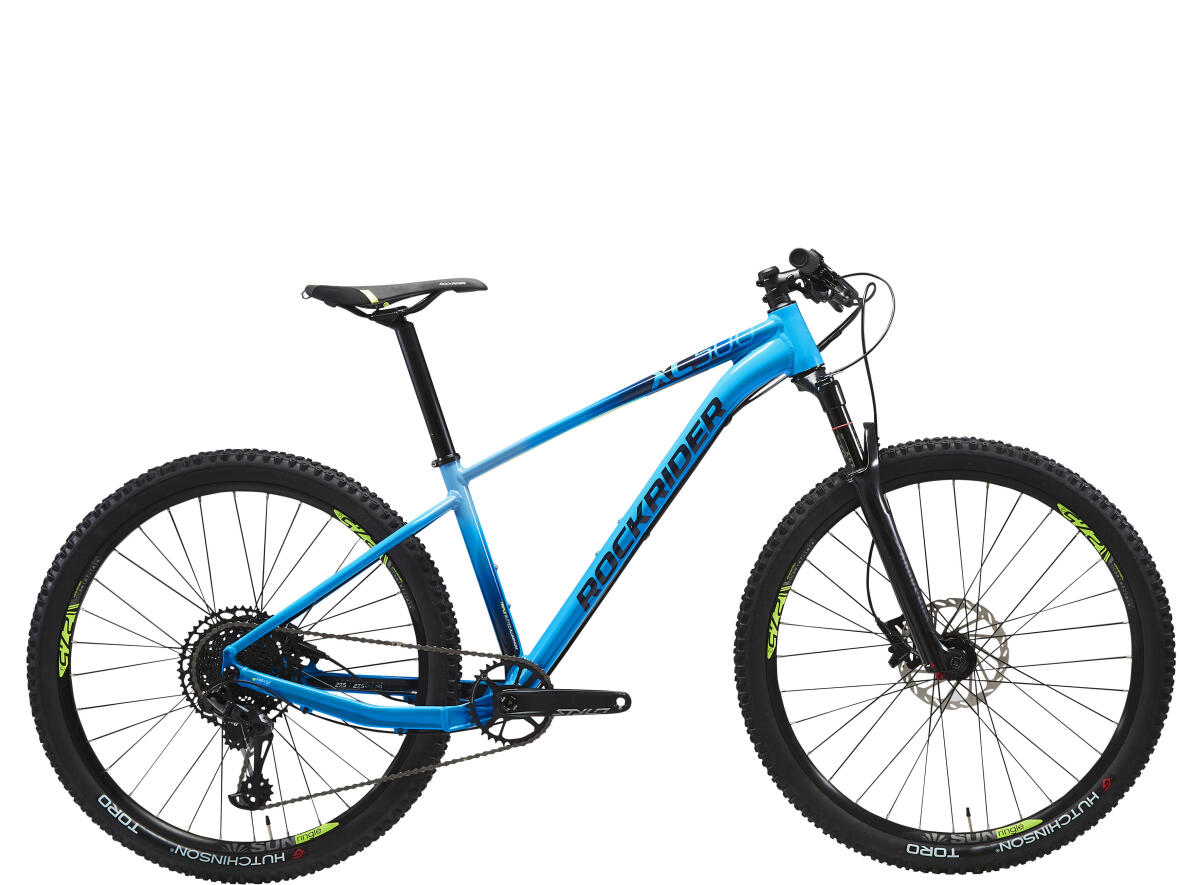 ROCKRIDER XC 500 MOUNTAIN BIKE 27.5 LIGHT BLUE