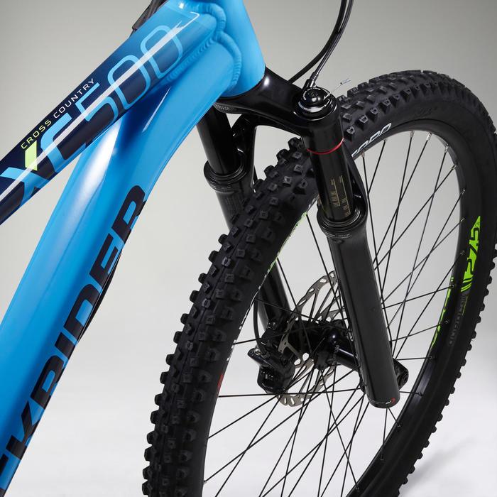 "Vélo VTT XC 500 27,5"" EAGLE bleu ciel"