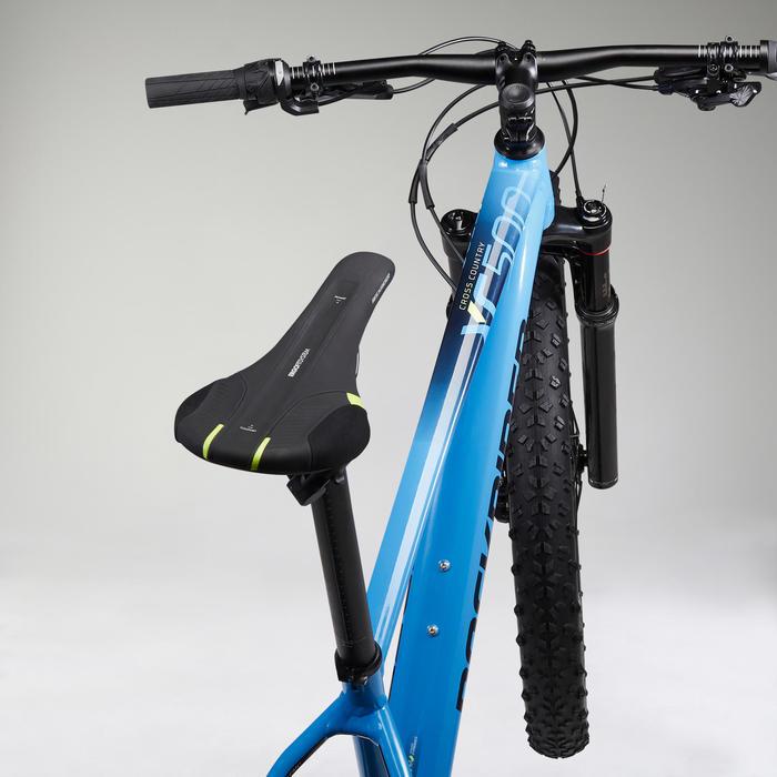 """Mountainbike XC 500 27.5"""" PLUS EAGLE lichtblauw"""