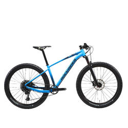 "Cross country mountainbike XC 500 27.5"" PLUS EAGLE lichtblauw"