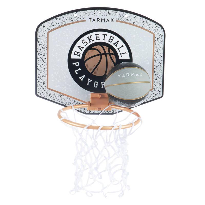 ZAČÁTKY S BASKETBALEM Basketbal - SADA MINI SK100 PLAYG ŠEDÁ  TARMAK - Basketbalové koše