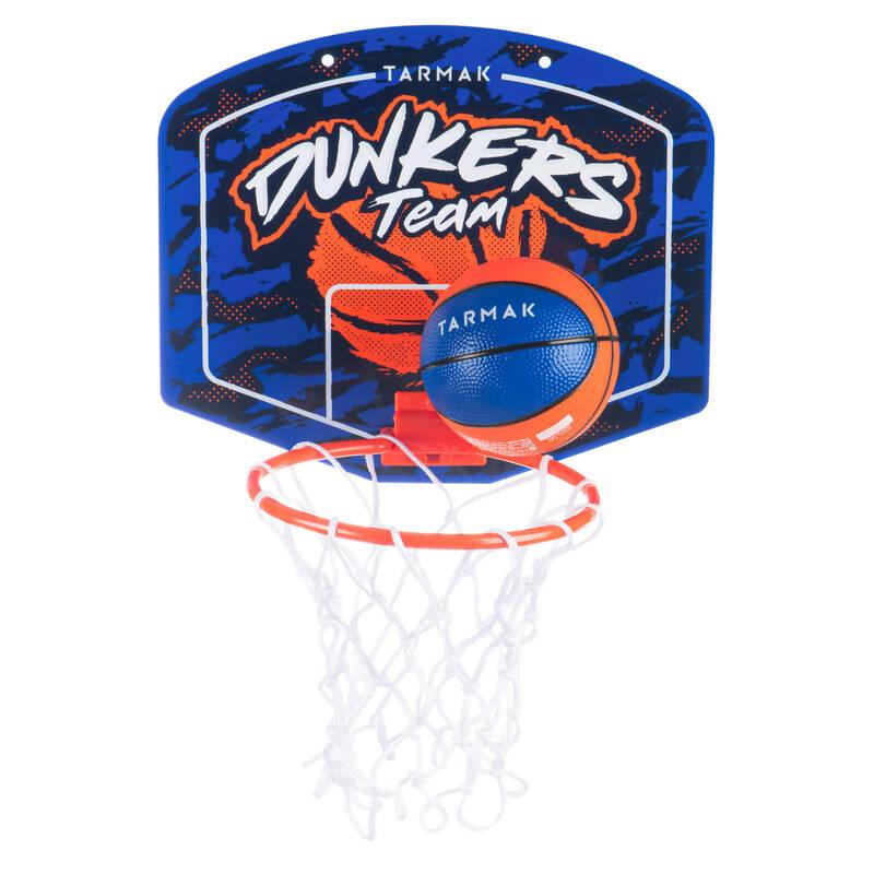 ZAČÁTKY S BASKETBALEM Basketbal - SADA MINI SK100 DUNKER MODRÁ  TARMAK - Basketbalové koše