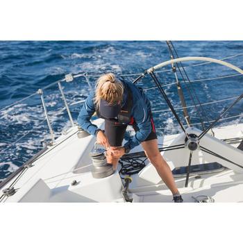 Visière voile homme, femme, enfant sailing 500 noir