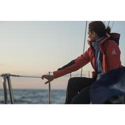Salopette de voile imperméable SAILING300 Femme Navy