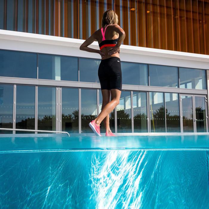 Parte de baixo de Fato de banho Calções Compridos Aquafitness Anna Mulher Preto