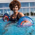 PLAVKY A VYBAVENÍ NA AQUAGYM, AQUABIKE Aqua aerobic, aqua fitness - DÁMSKÉ PLAVKY ANNA ČERNÉ NABAIJI - Aqua aerobic, aqua fitness
