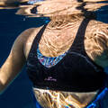 PLAVKY A VYBAVENÍ NA AQUAGYM, AQUABIKE Aqua aerobic, aqua fitness - HORNÍ DÍL PLAVEK LOU ČERNÝ NABAIJI - Aqua aerobic, aqua fitness