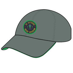 Kids' Hiking Cap MH100 - Green