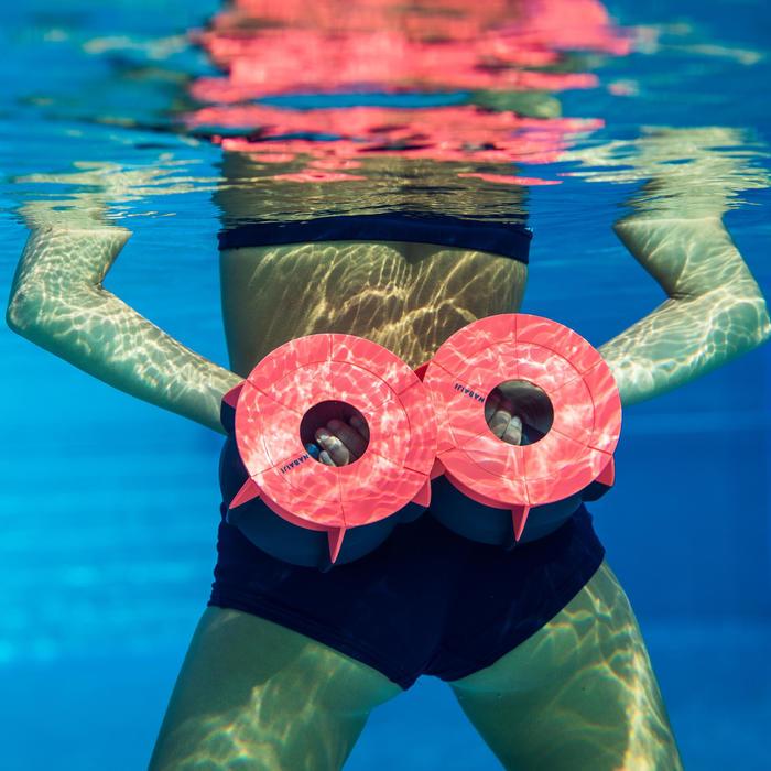 Bas de maillot de bain culotte d'Aquafitness femme Meg bleu