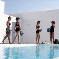 Bas de maillot de bain short d'aquaforme femme Anny noir