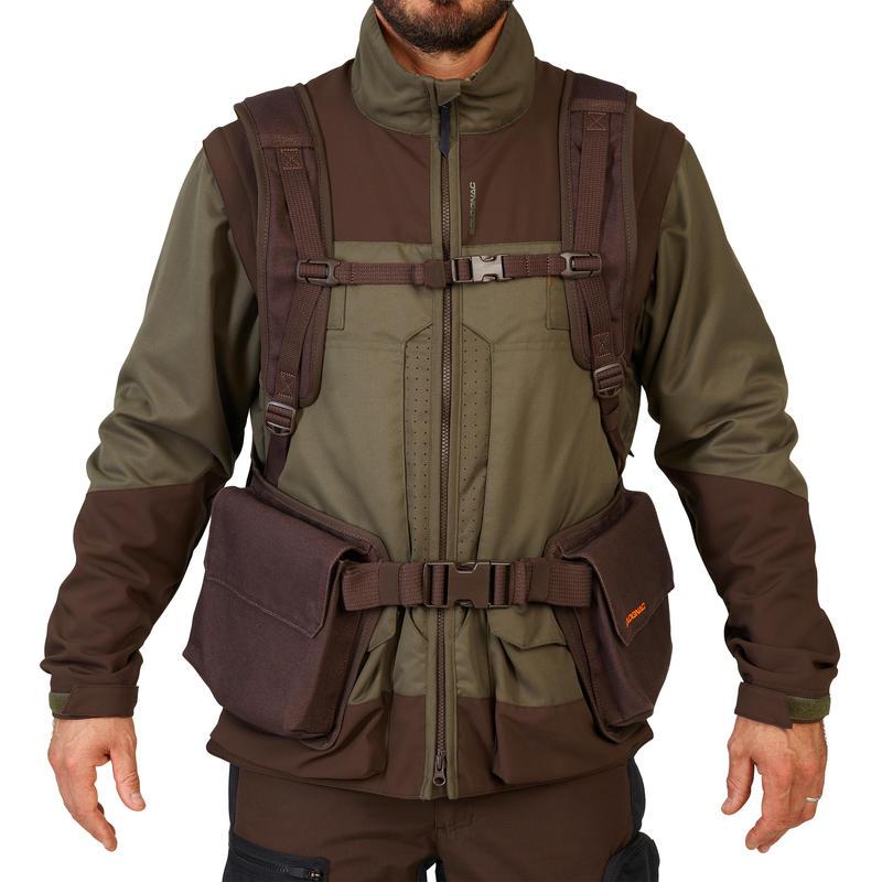 Hunting 900 gilet - Brown