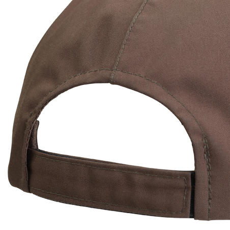 Waterproof Hunting Cap 500 - Brown