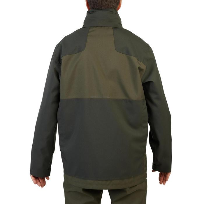 Veste chasse résistante et imperméable supertrack 100 verte
