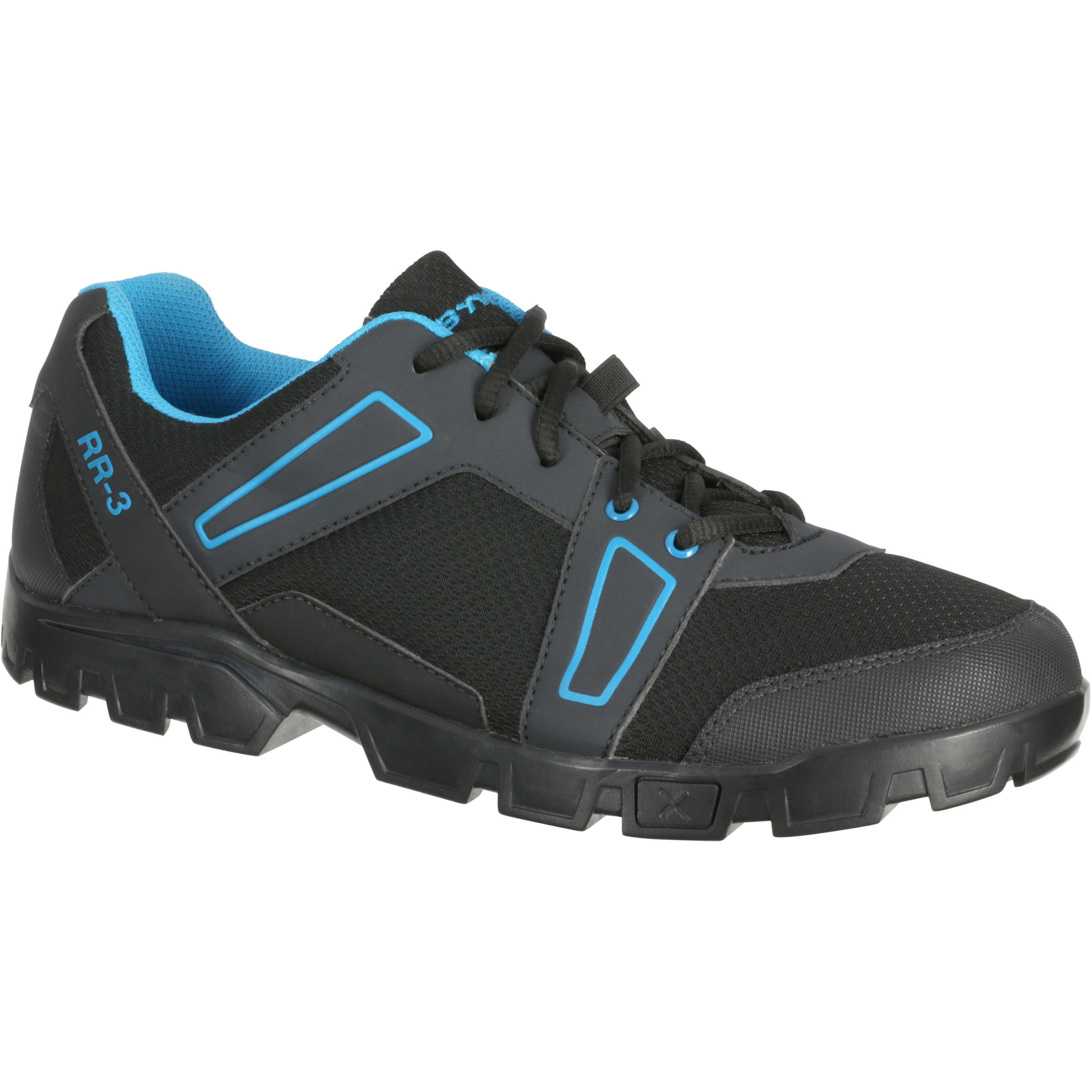 300 Mountain Bike Touring Shoes - Black/Blue
