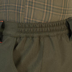 Pantalon chasse résistant et imperméable supertrack 100 vert
