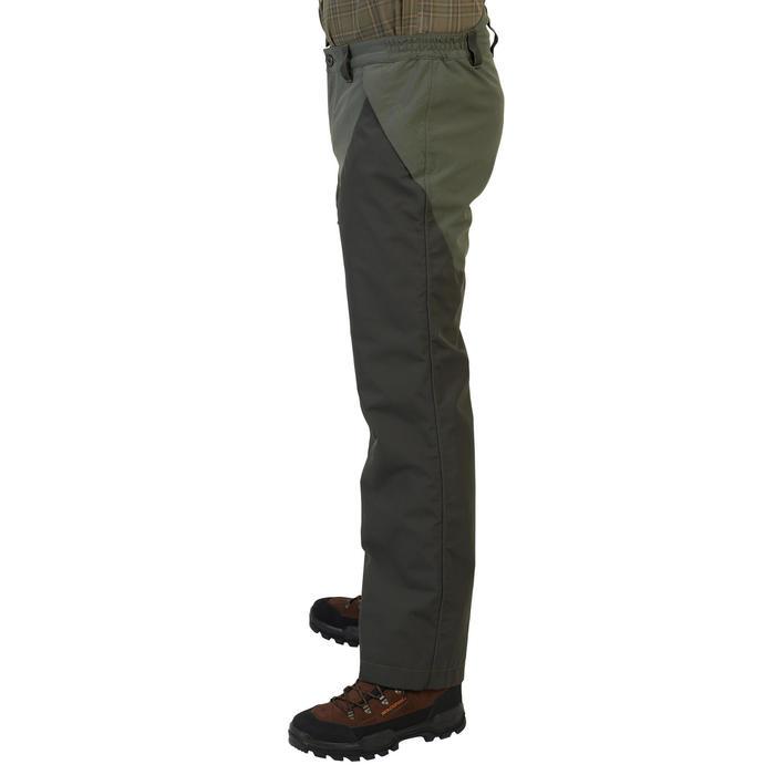 Pantalon chasse imperméable renfort 540 vert