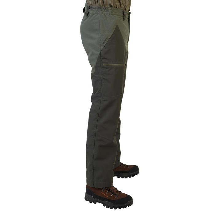 Pantalon chasse imperméable 540 renfort vert
