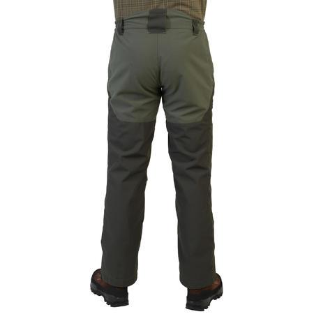 Pantalon chasse imperméable 540 renfort vert   Solognac