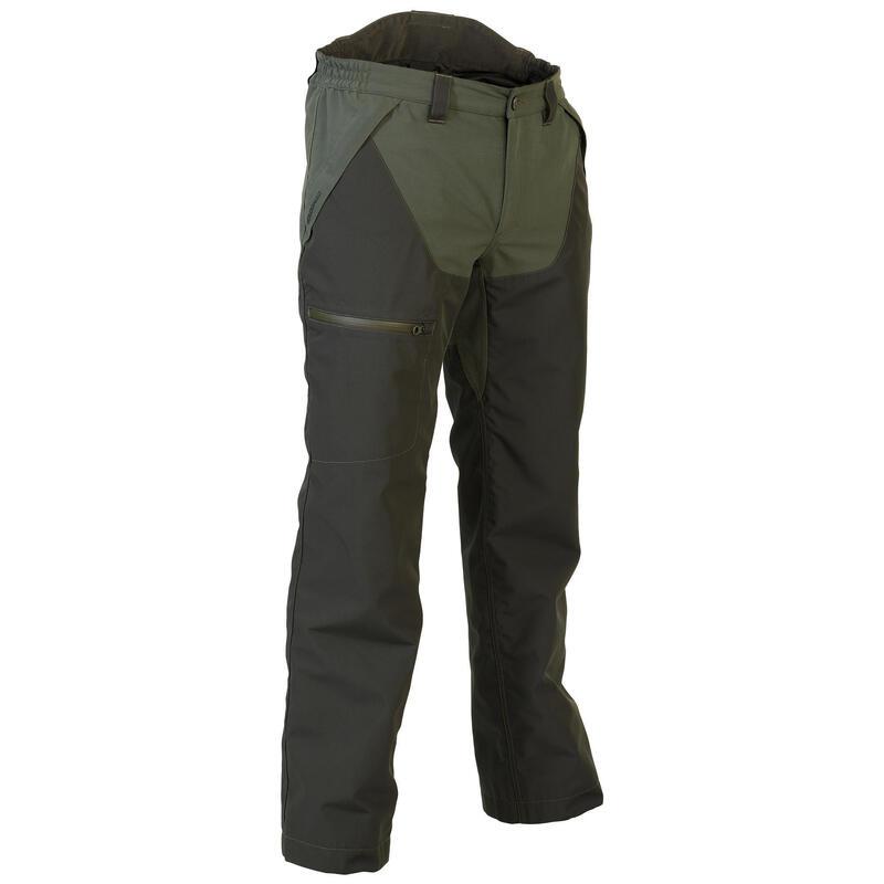 Pantaloni caccia impermeabili RENFORT 540 verdi