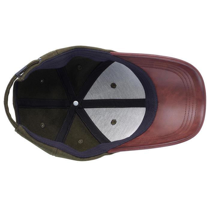 Casquette Chasse 520 Vert et Marron