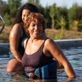 PLAVKY A VYBAVENÍ NA AQUAGYM, AQUABIKE Aqua aerobic, aqua fitness - JEDNODÍLNÉ PLAVKY MARY NABAIJI - Aqua aerobic, aqua fitness