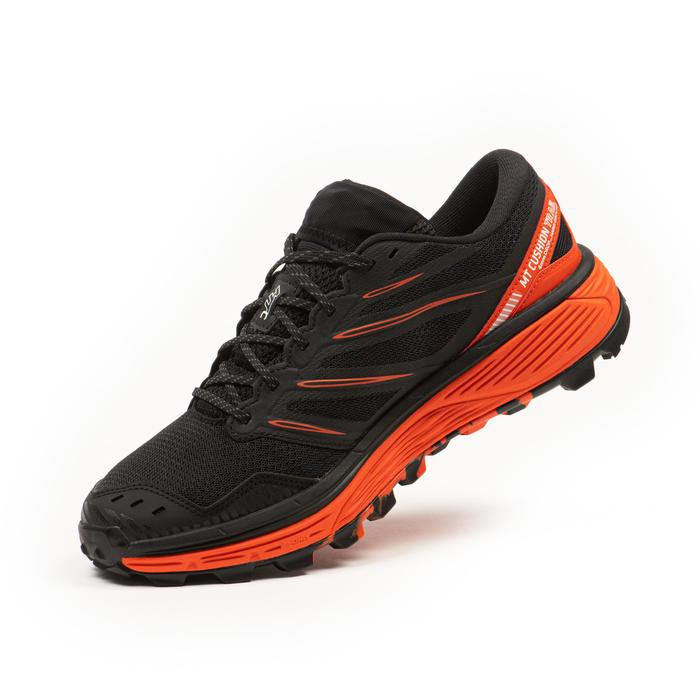 Men's Trail Running Shoe MT Cushion - black red