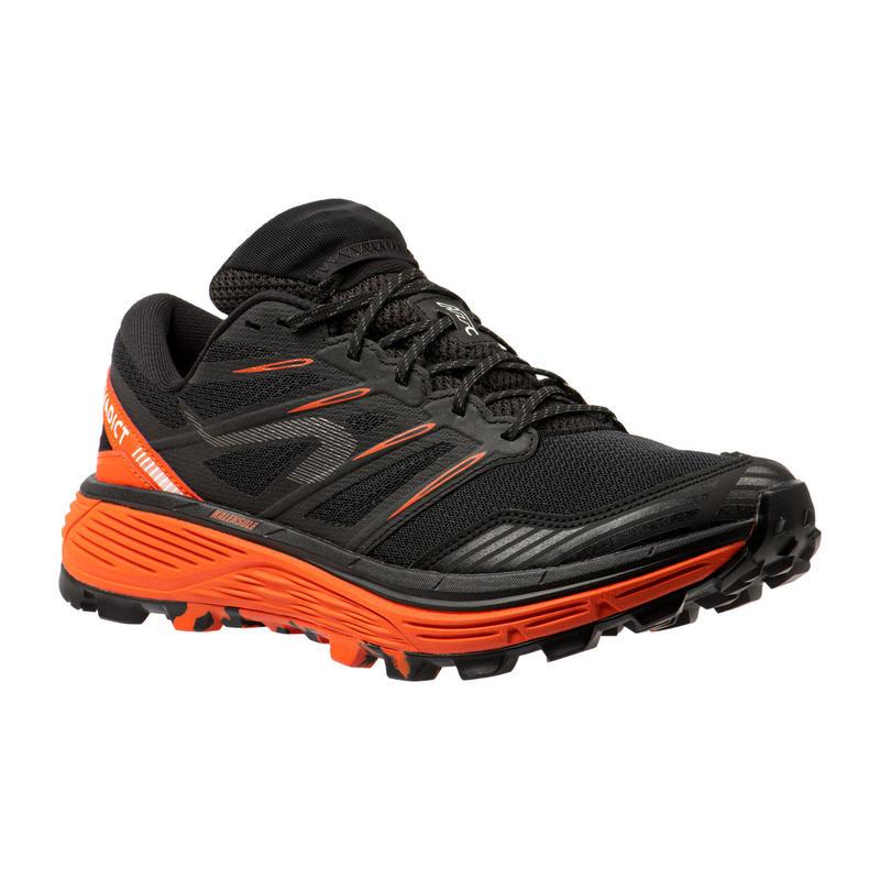 Zapatillas Trail Running MT Cushion Hombre Negro Rojo