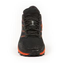 男款越野跑鞋MT Cushion - 黑色紅色