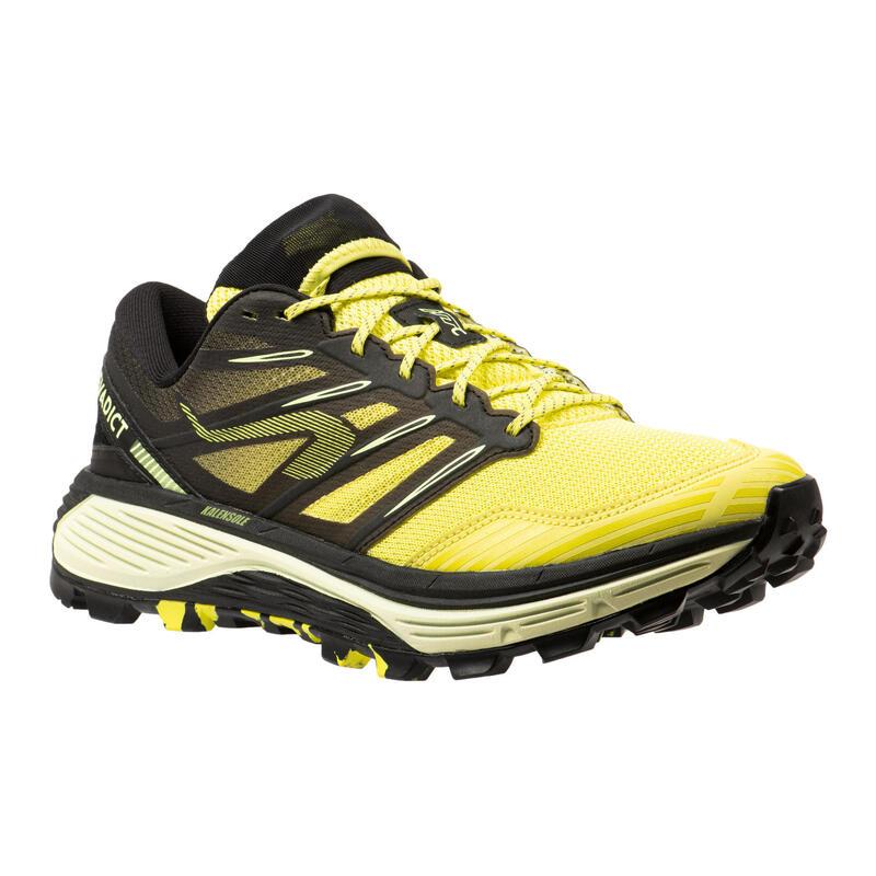 Chaussure de trail running pour homme MT CUSHION jaune et noir