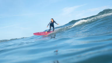 bienfaits de surf endorphines