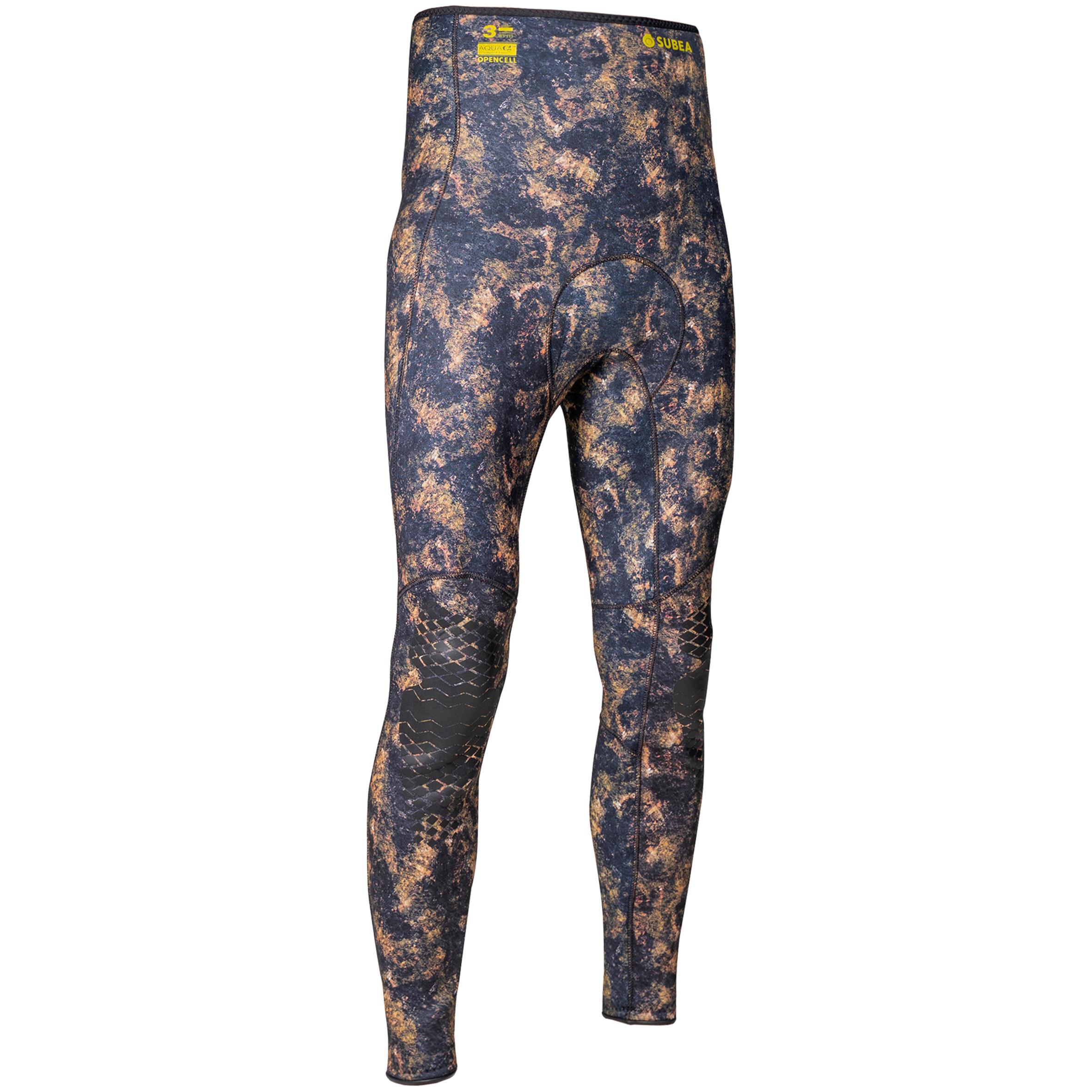 Neoprenhose Tauchen 3mm Camouflage | Bekleidung > Bademode > Badeshorts | Subea