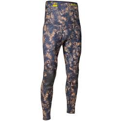 Pantalon néoprène refendu 3mm camouflage de chasse sous-marine apnée