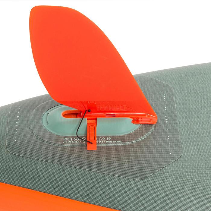 "Opblaasbaar touring supboard X500 tandem 15""-35' groen"