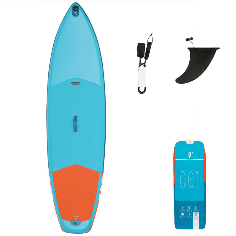 SUP GONFLABILE DRUMEȚIE Caiac, Stand Up Paddle - SUP Gonflabil X100 9'  ITIWIT - Stand Up Paddle