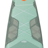 "TOURING INFLATABLE STAND-UP PADDLE BOARD X500 / 13""-31' GREEN"