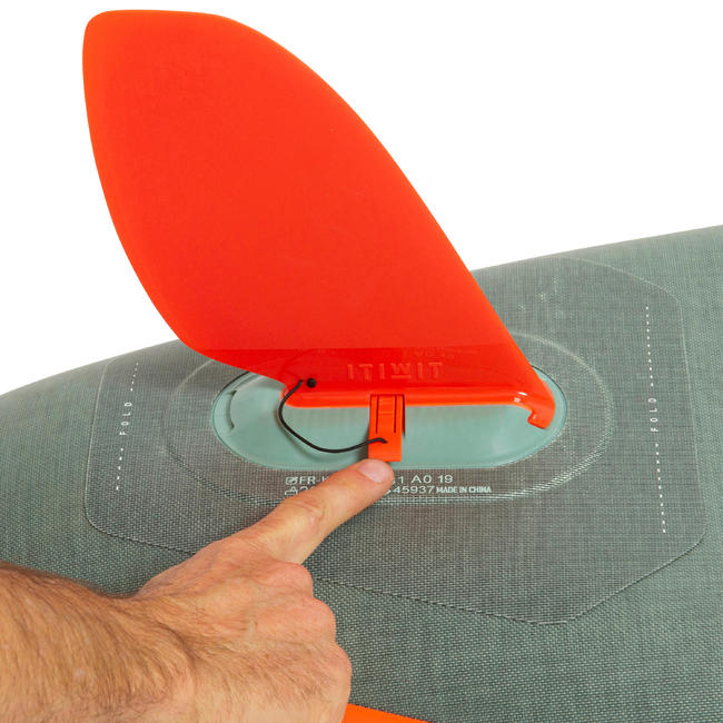TOURING INFLATABLE STAND-UP PADDLE BOARD X500 / 13_QUOTE_-31' GREEN